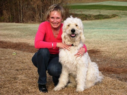 Dr. Janice Elenbaas and Bugsy - Lucky Dog Cuisine