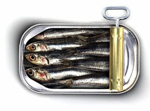 Sardines are a great source of healthy Omegas