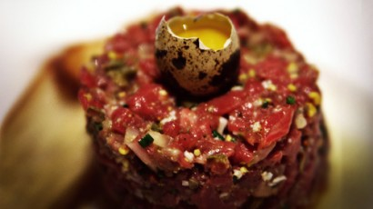 Are you comfortable eating raw food like steak tartare?