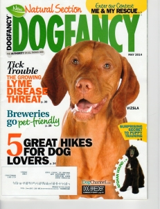 Dog Fancy magazine cover